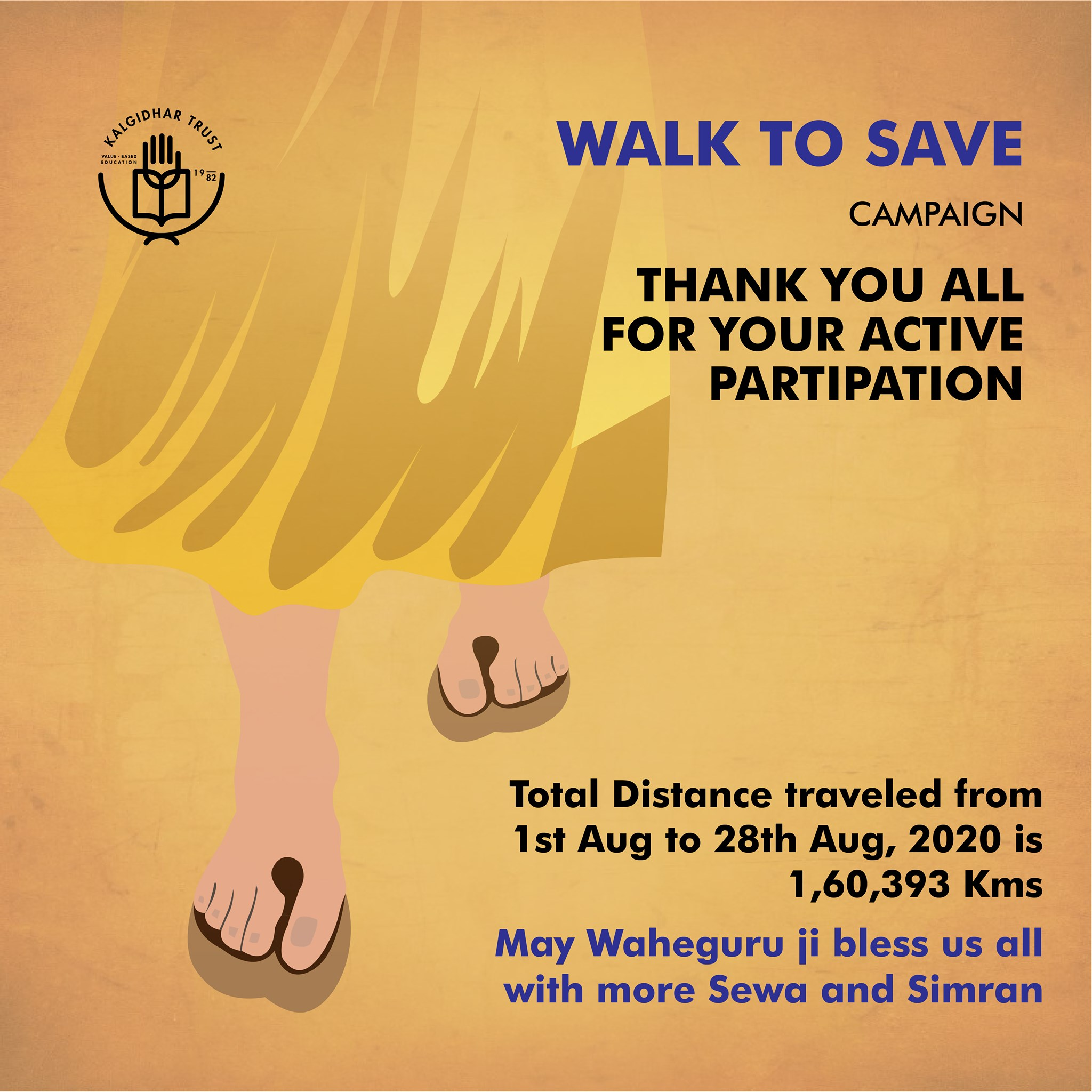 Walk to Save Campaign