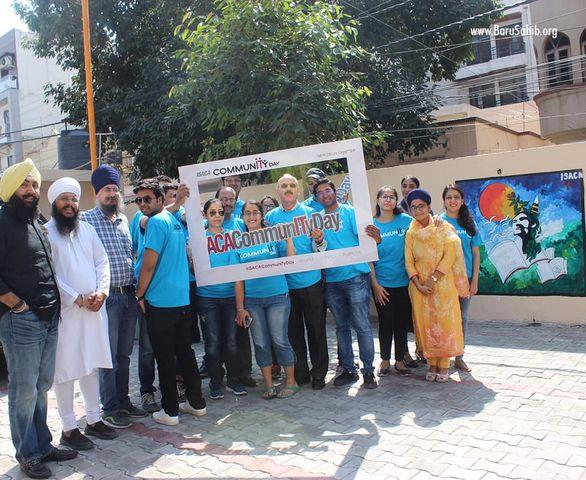 ISACA celebrated Community Day at the Kalgidhar Trust's New Delhi office.