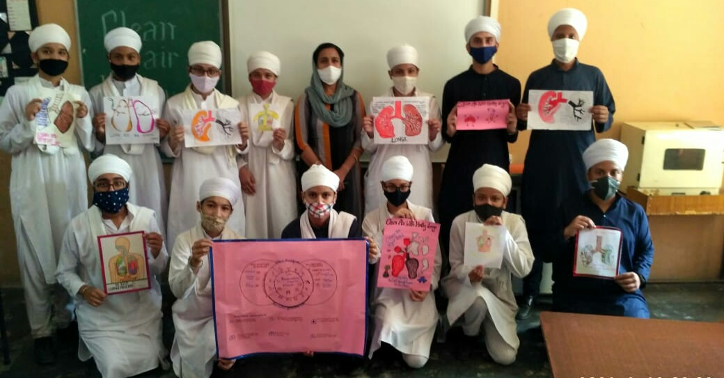 To create awareness for clean air and healthy lungs