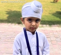 Child is the father of Man! - Meet Akal Academy Village FatehGarh Channa's 4 yr old Harjot Singh