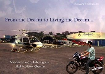 Flight Safety is his Dream! - The Rainbow is in his reach